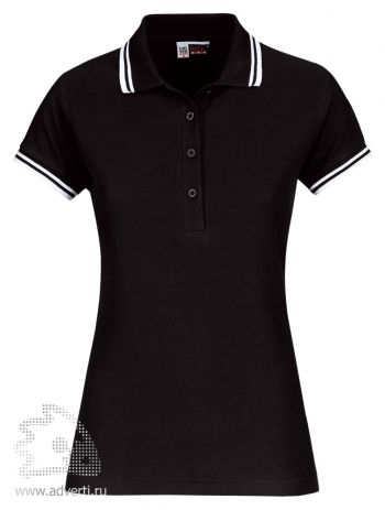 Рубашка поло «Erie», женская, черная