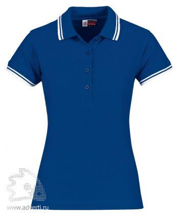 Рубашка поло «Erie», женская, синяя