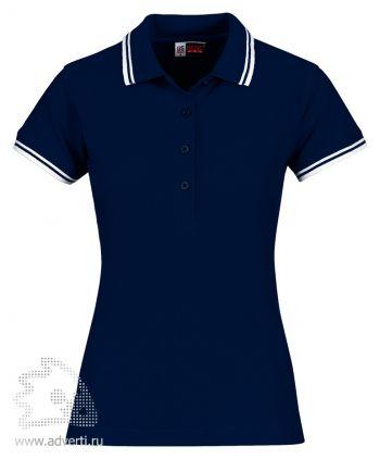 Рубашка поло «Erie», женская, темно-синяя