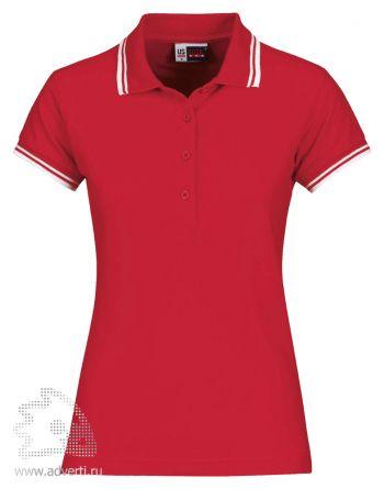 Рубашка поло «Erie», женская, красная