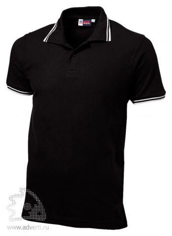 Рубашка поло «Erie», мужская, черная