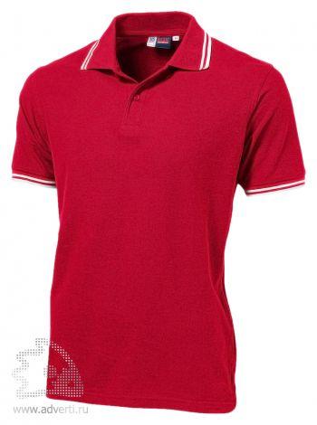 Рубашка поло «Erie», мужская, красная