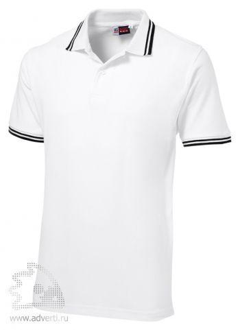 Рубашка поло «Erie», мужская, белая