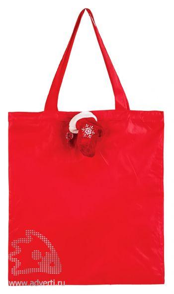 Сумка для покупок «Рукавичка» новогодняя, сумка