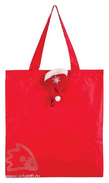 Сумка для покупок «Колпак» новогодняя, сумка