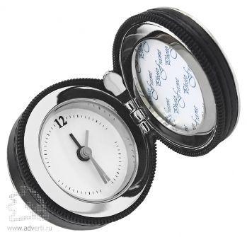 Дорожные часы-будильник с фоторамкой