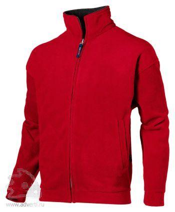 Джемпер «Nashville», мужской, US Basic, Голландия, красная с пепельно-серым