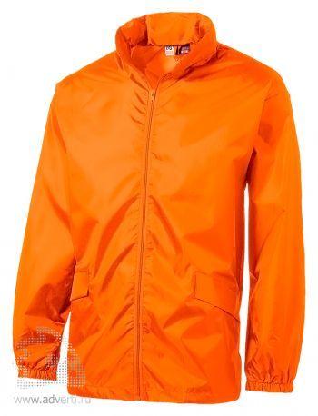 Ветровка с чехлом «Miami», мужская, оранжевая