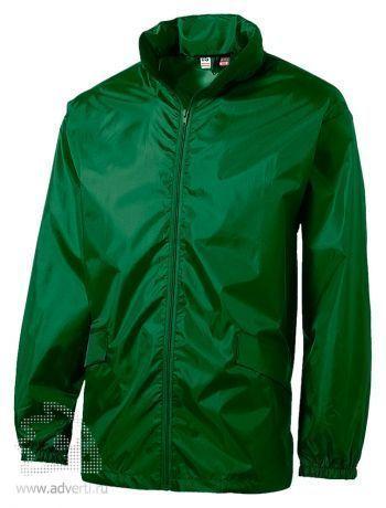 Ветровка с чехлом «Miami», мужская, зеленая