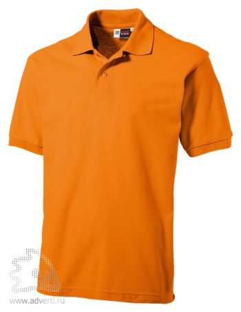 Рубашка поло «Boston», мужская, оранжевая