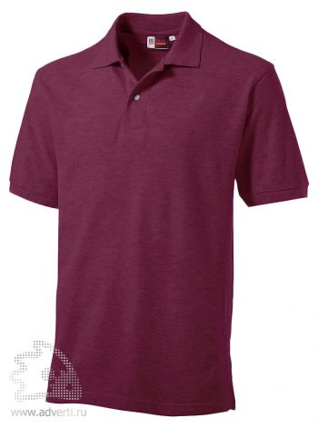 Рубашка поло «Boston», мужская, темно-фиолетовая