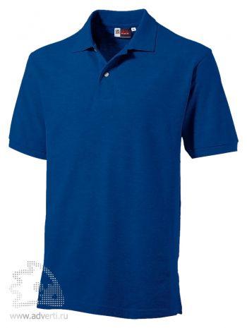 Рубашка поло «Boston», мужская, синяя