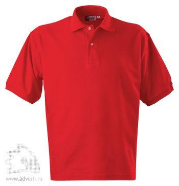Рубашка поло «Boston», мужская, красная