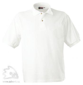 Рубашка поло «Boston», мужская, белая