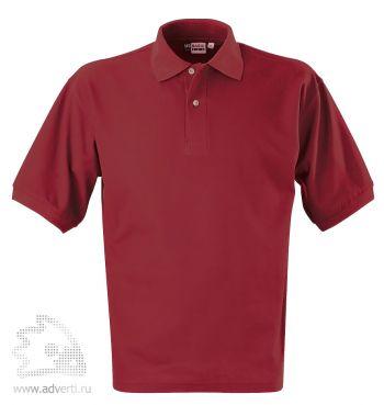 Рубашка поло «Boston», мужская, бордовая