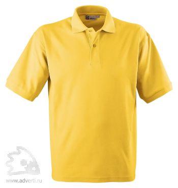Рубашка поло «Boston», мужская, желтая