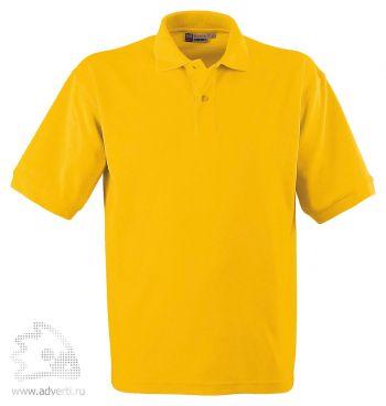 Рубашка поло «Boston», мужская, ярко-желтая