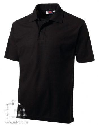 Рубашка поло «Chelsea», мужская, черная