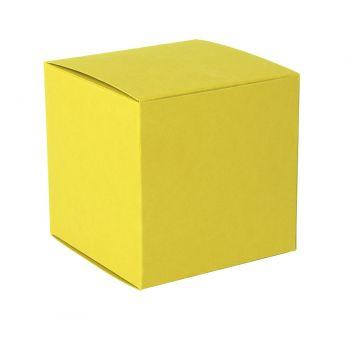 Коробка подарочная «Cube», жёлтая
