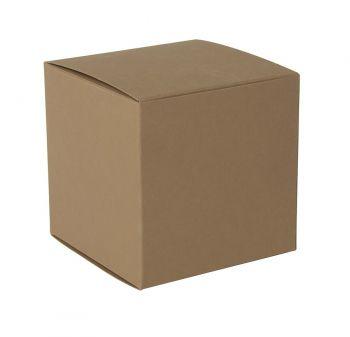 Коробка подарочная «Cube», коричневая