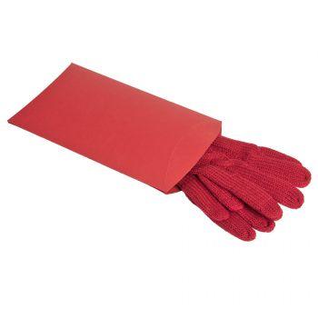 Коробка подарочная «Pack», красная, пример использования