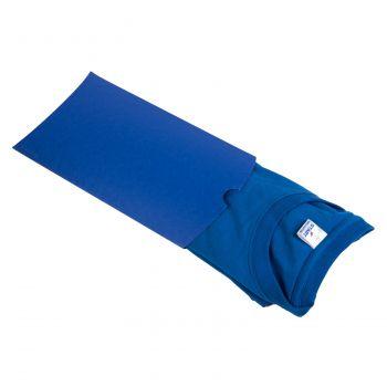 Коробка подарочная «Pack», синяя, пример использования