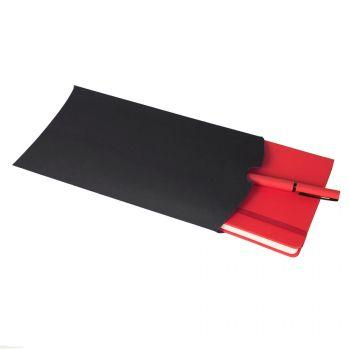 Коробка подарочная «Pack», чёрная, пример использования