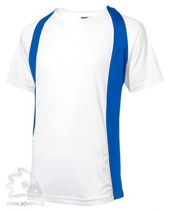 Футболка «Cool Fit», мужская, Slazenger, белая с голубым