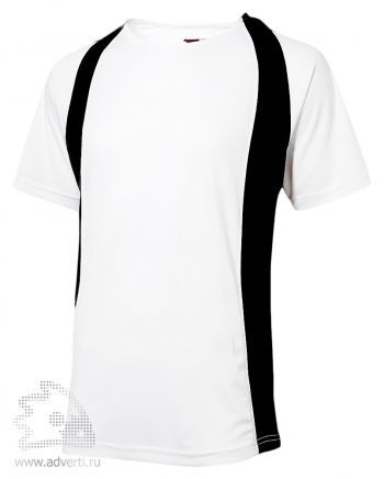 Футболка «Cool Fit», мужская, Slazenger, белая с черным