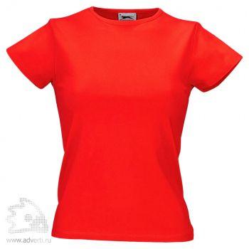 Футболка «Body Fit», женская, красная