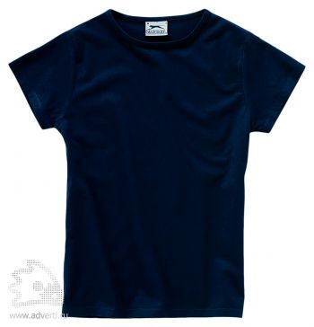 Футболка «Body Fit», женская, темно-синяя