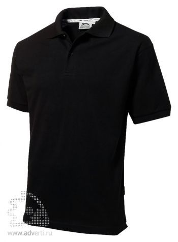 Рубашка поло «Forehand», мужская, черная
