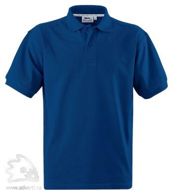 Рубашка поло «Forehand», мужская, синяя