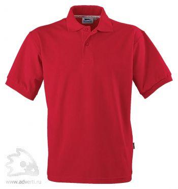 Рубашка поло «Forehand», мужская, красная