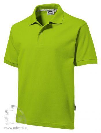 Рубашка поло «Forehand», мужская, зеленая