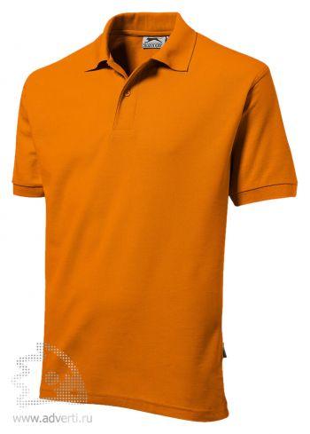 Рубашка поло «Mix», мужская, оранжевая