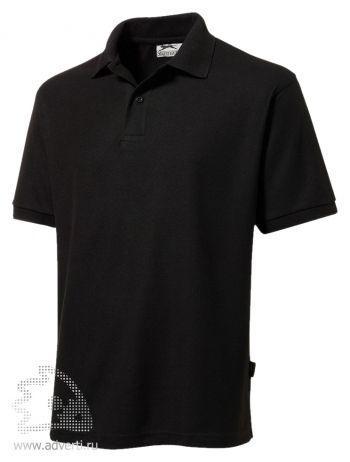 Рубашка поло «Mix», мужская, черная