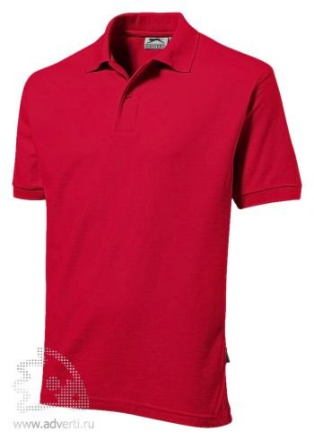 Рубашка поло «Deuce», мужская, красная