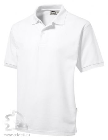 Рубашка поло «Mix», мужская, белая