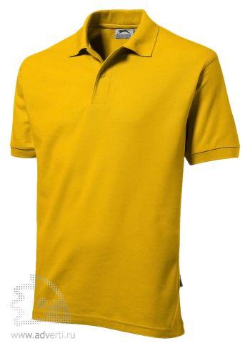 Рубашка поло «Mix», мужская, желтая