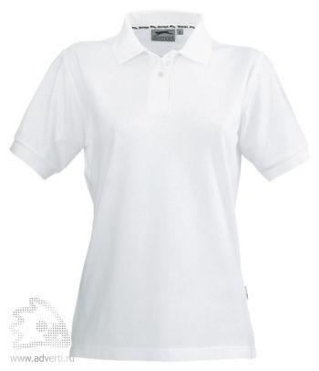 Рубашка поло «Cotton», женская, белая