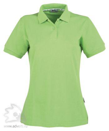Рубашка поло «Cotton», женская, светло-зеленая
