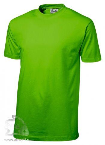 Футболка «Ace», мужская, светло-зеленая