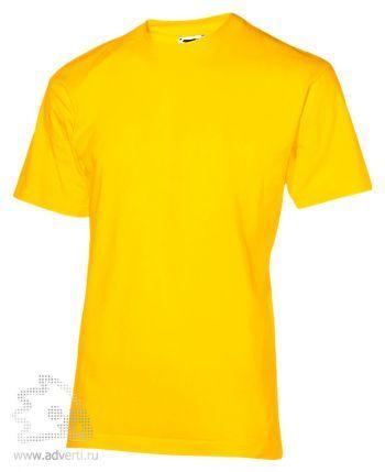 Футболка «200», мужская, желтая
