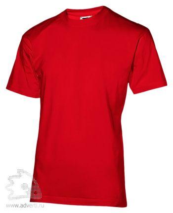 Футболка «200», мужская, красная