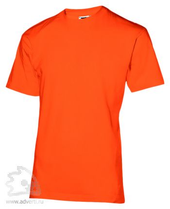 Футболка «200», мужская, оранжевая