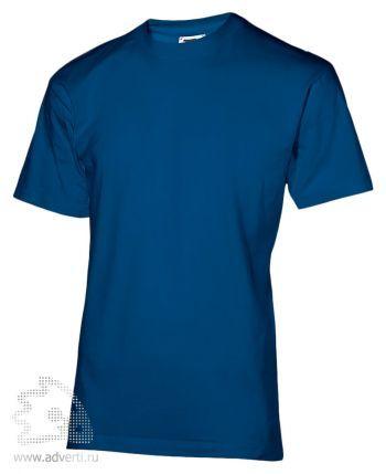 Футболка «200», мужская, синяя
