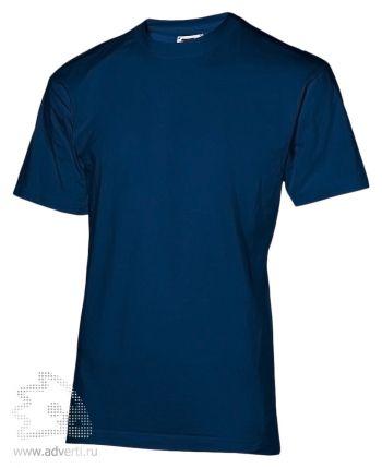 Футболка «200», мужская, темно-синяя
