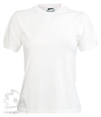 Футболка «150», женская, белая