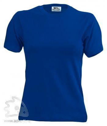 Футболка «150», женская, синяя